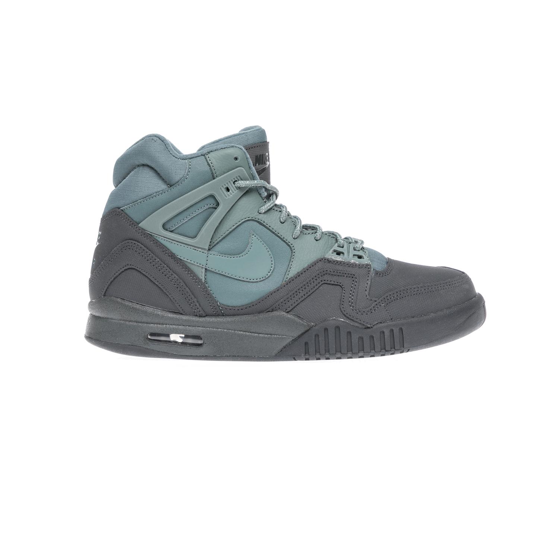 NIKE – Αντρικά αθλητικά παπούτσια NIKE AIR TECH CHALLENGE II γκρι-πράσινα