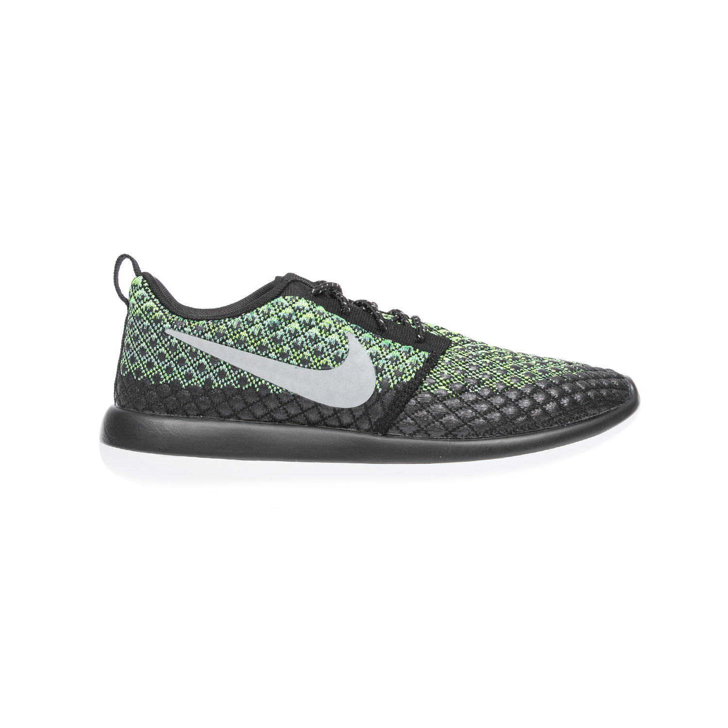 NIKE – Αντρικά παπούτσια NIKE ROSHE TWO FLYKNIT 365 πράσινα-μαύρα