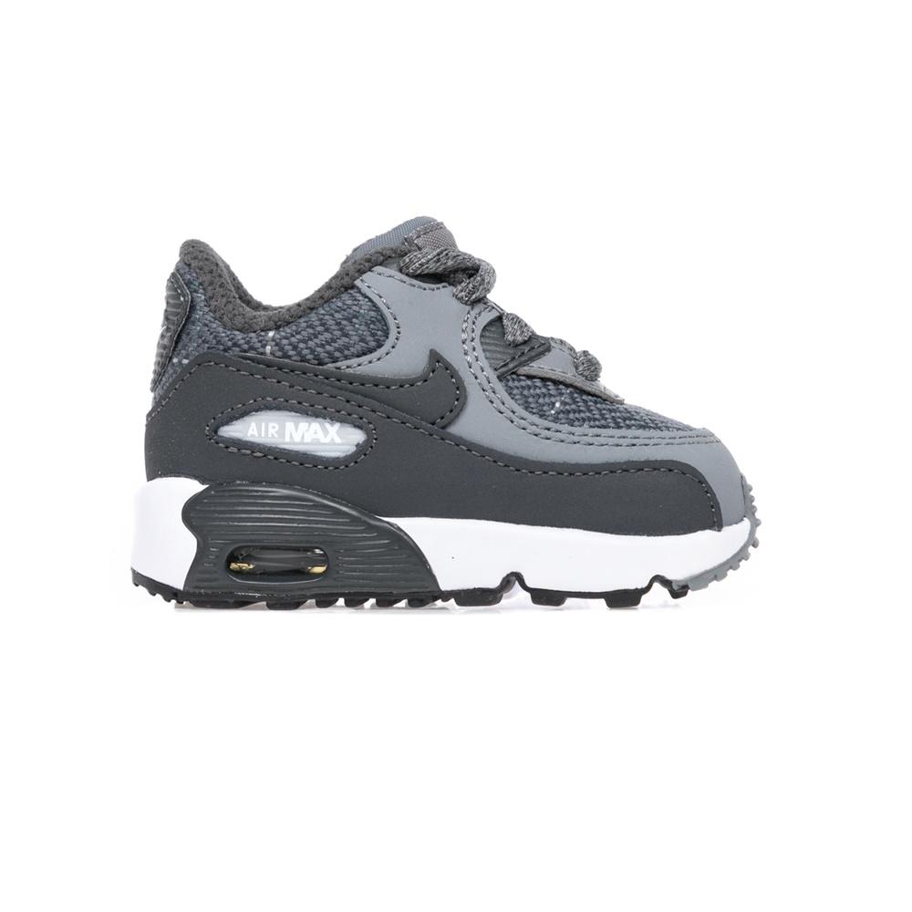 NIKE - Αθλητικά παπούτσια βρεφικά AIR MAX 90 SE LTR γκρι παιδικά baby παπούτσια αθλητικά
