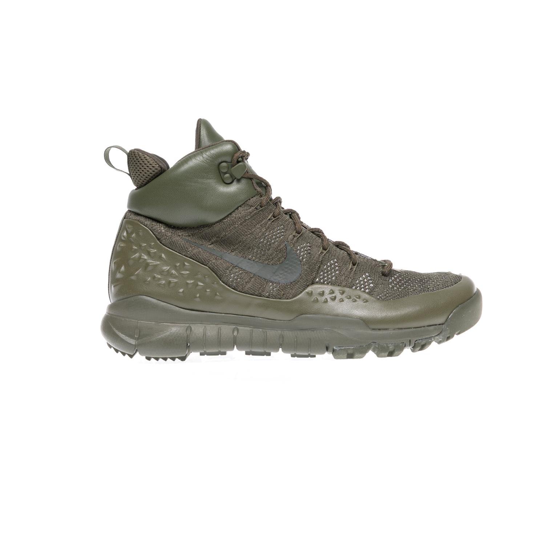 NIKE – Αντρικά αθλητικά παπούτσια NIKE LUPINEK FLYKNIT χακί