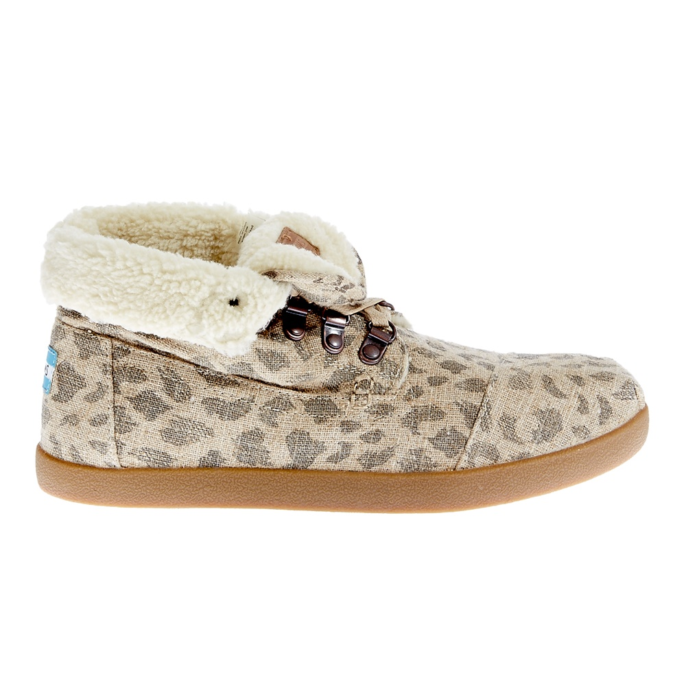 TOMS - Γυναικεία μποτάκια TOMS μπεζ γυναικεία παπούτσια μπότες μποτάκια μποτάκια