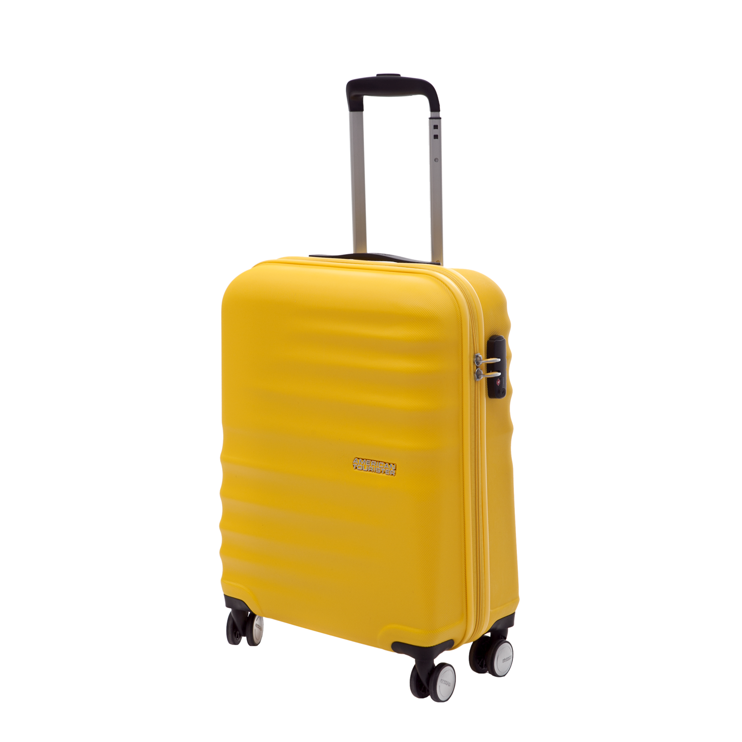 AMERICAN TOURISTER – Βαλίτσα American Tourister WAVEBREAKER SPINNER κίτρινη