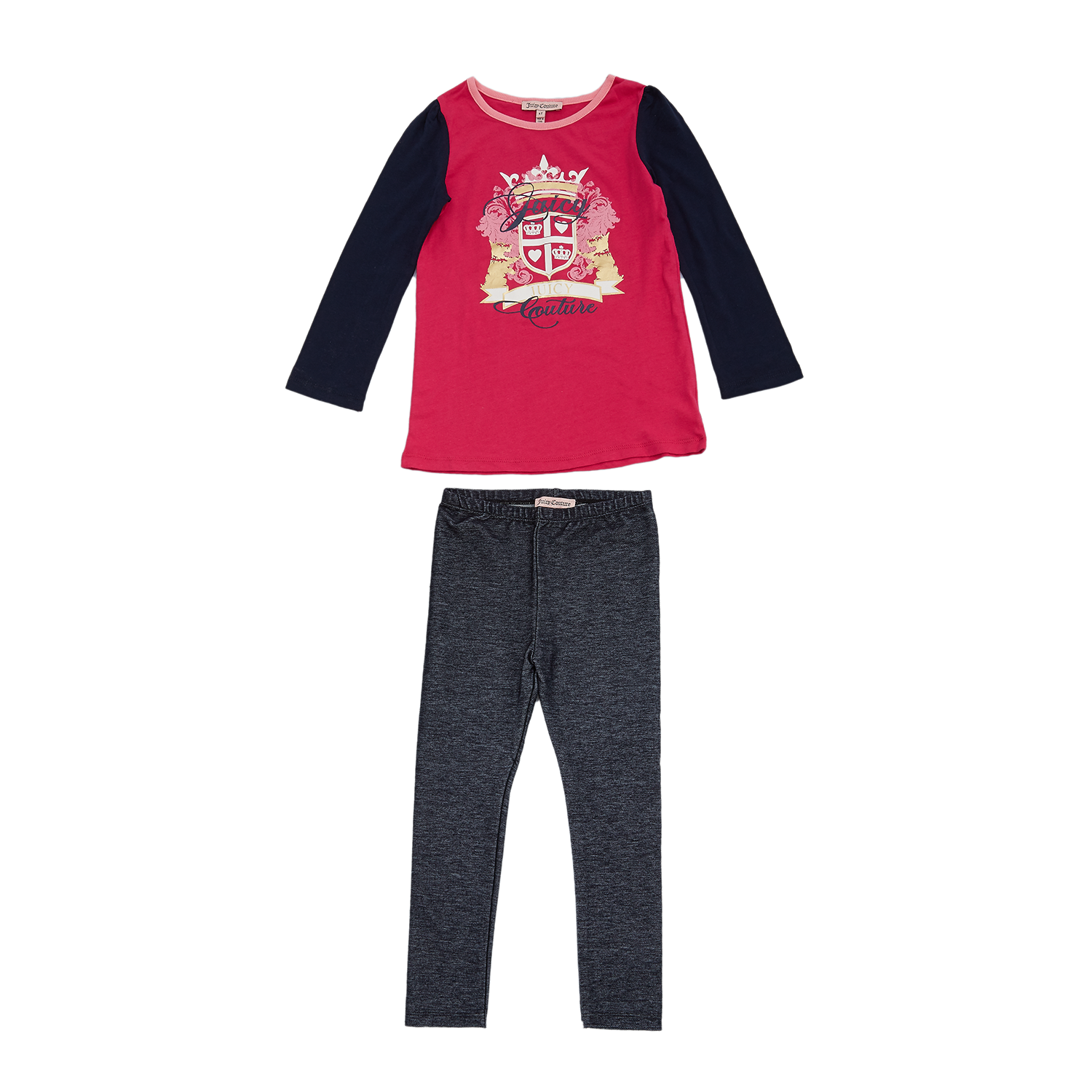 6d184f837bf JUICY COUTURE KIDS - Βρεφικό σετ Juicy Couture φούξια-μαύρο