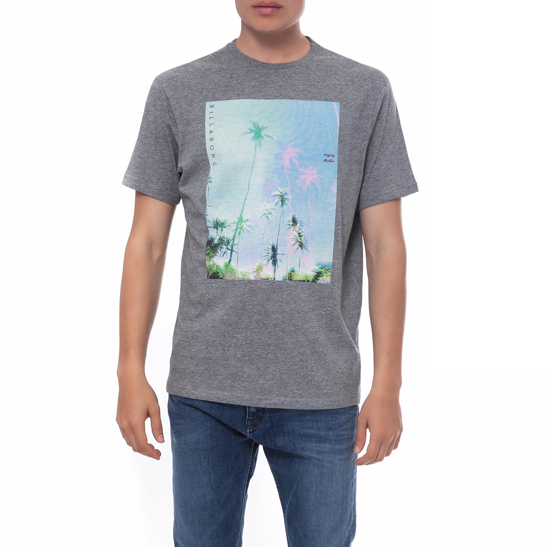 BILLABONG - Ανδρική μπλούζα Billabong γκρι κοντομάνικη