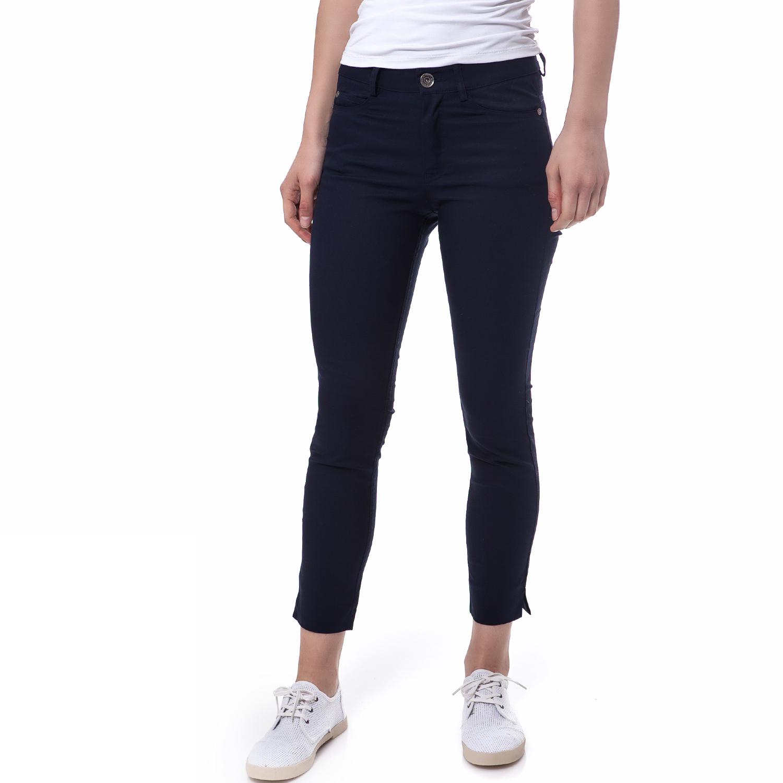 TEA & ROSE - Γυναικείο παντελόνι Tea & Rose μπλε γυναικεία ρούχα παντελόνια casual