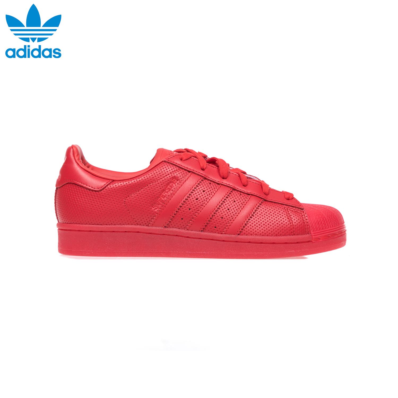 ADIDAS – Unisex παπούτσια adidas SUPERSTAR ADICOLOR κόκκινα