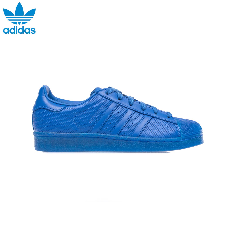 ADIDAS – Αθλητικά παπούτσια SUPERSTAR ADICOLOR μπλε