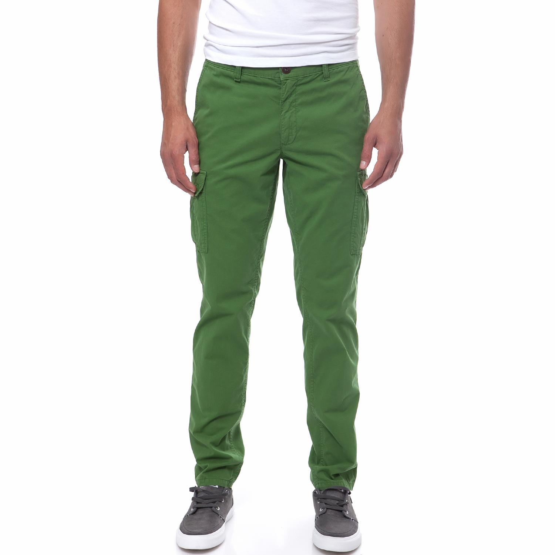 AERONAUTICA MILITARE - Ανδρικό παντελόνι Aeronautica Militare πράσινο ανδρικά ρούχα παντελόνια casual