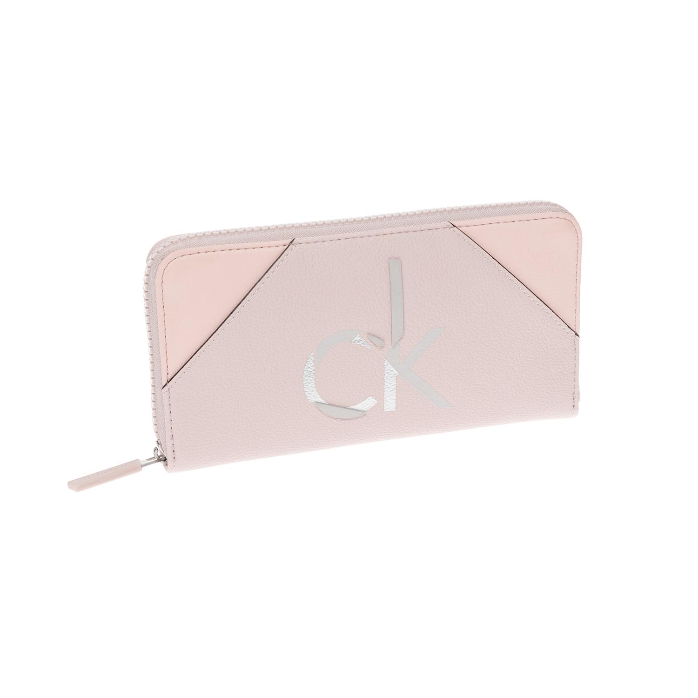CALVIN KLEIN JEANS – Γυναικείο πορτοφόλι CALVIN KLEIN JEANS ροζ