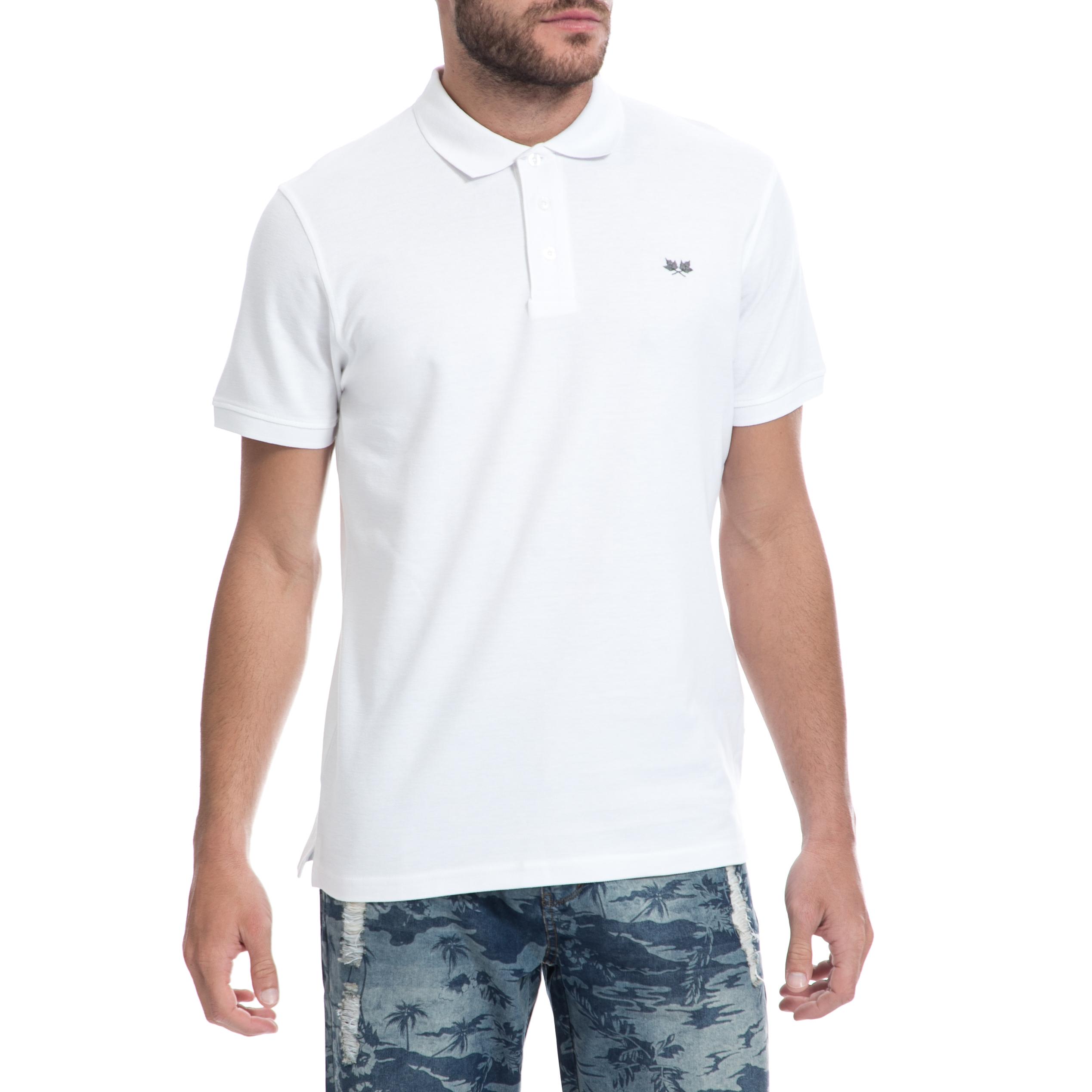 GREENWOOD – Ανδρική μπλούζα GREENWOOD λευκή