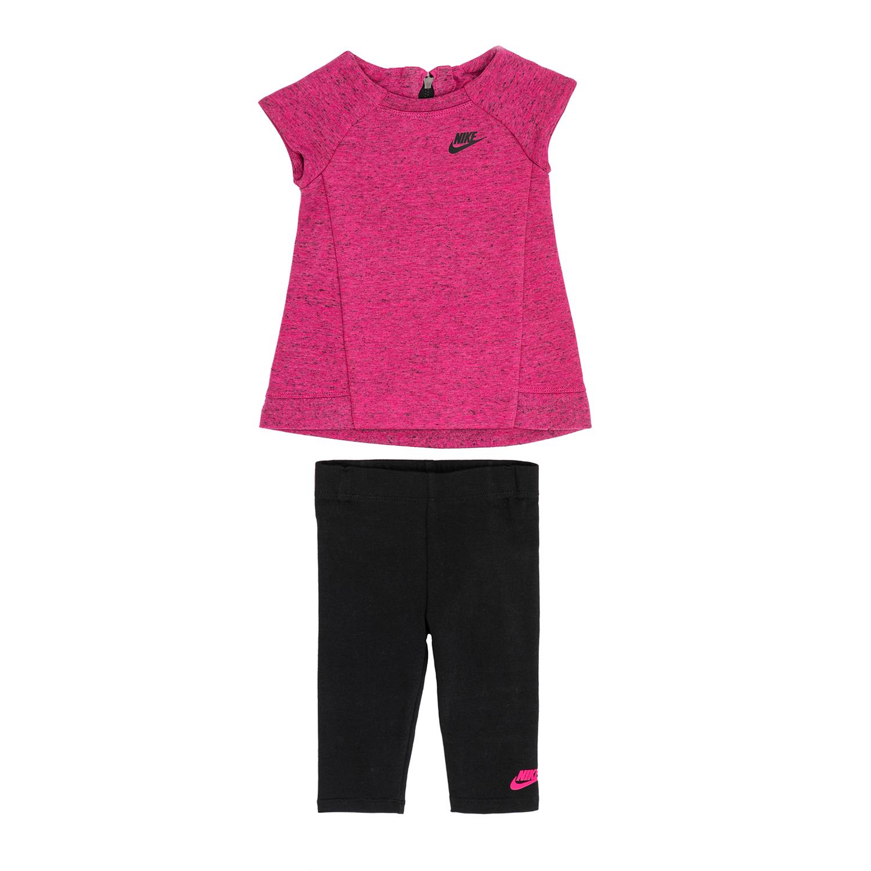 NIKE – Βρεφικό σετ NIKE μαύρο-ροζ