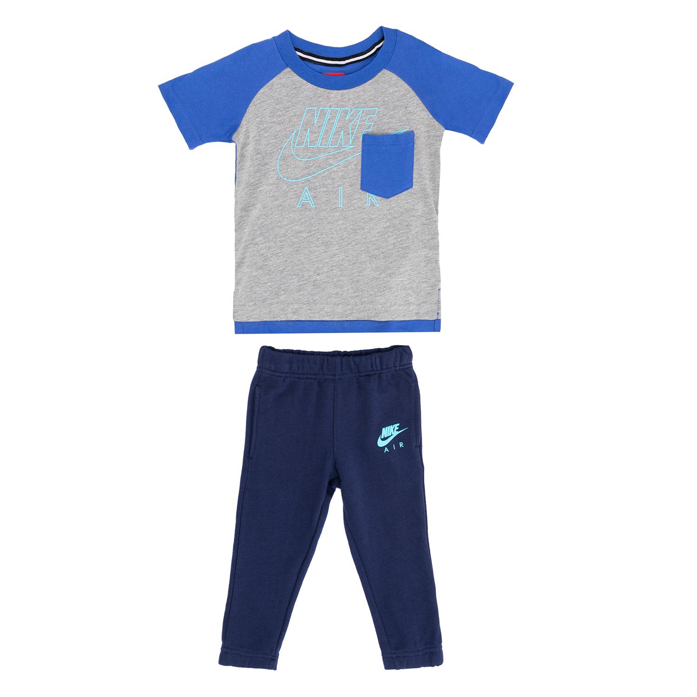 NIKE – Παιδικό σετ NIKE γκρι-μπλε