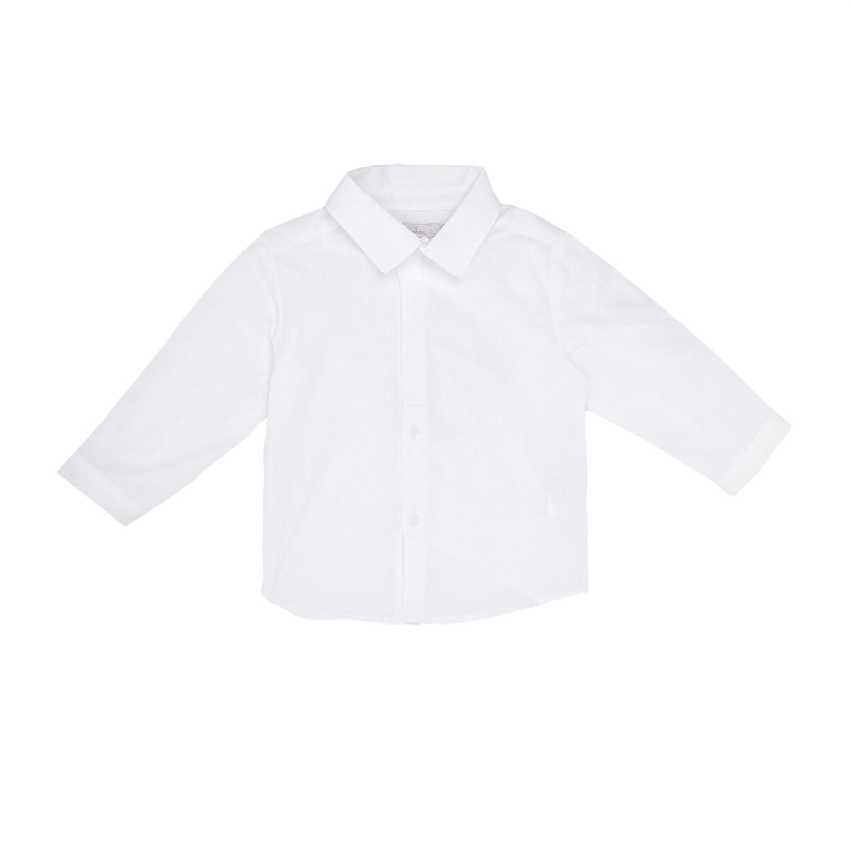 PATACHOU - Παιδικό πουκάμισο PATACHOU άσπρο