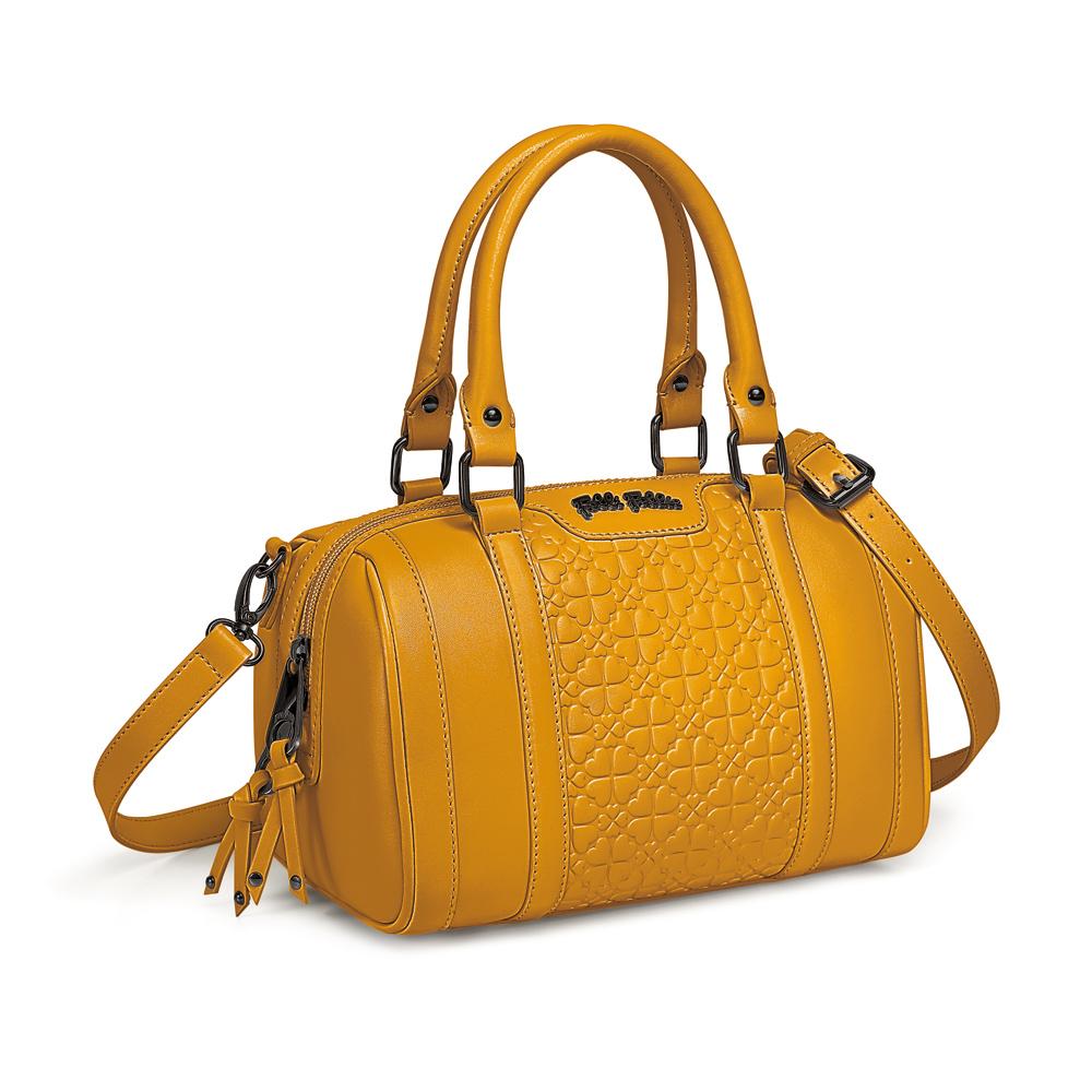 FOLLI FOLLIE - Γυναικεία τσάντα Folli Follie κίτρινη γυναικεία αξεσουάρ τσάντες σακίδια χειρός