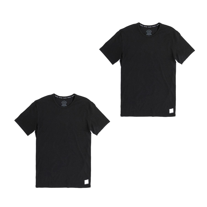CK UNDERWEAR – Ανδρικό σετ φανέλες Calvin Klein μαύρες