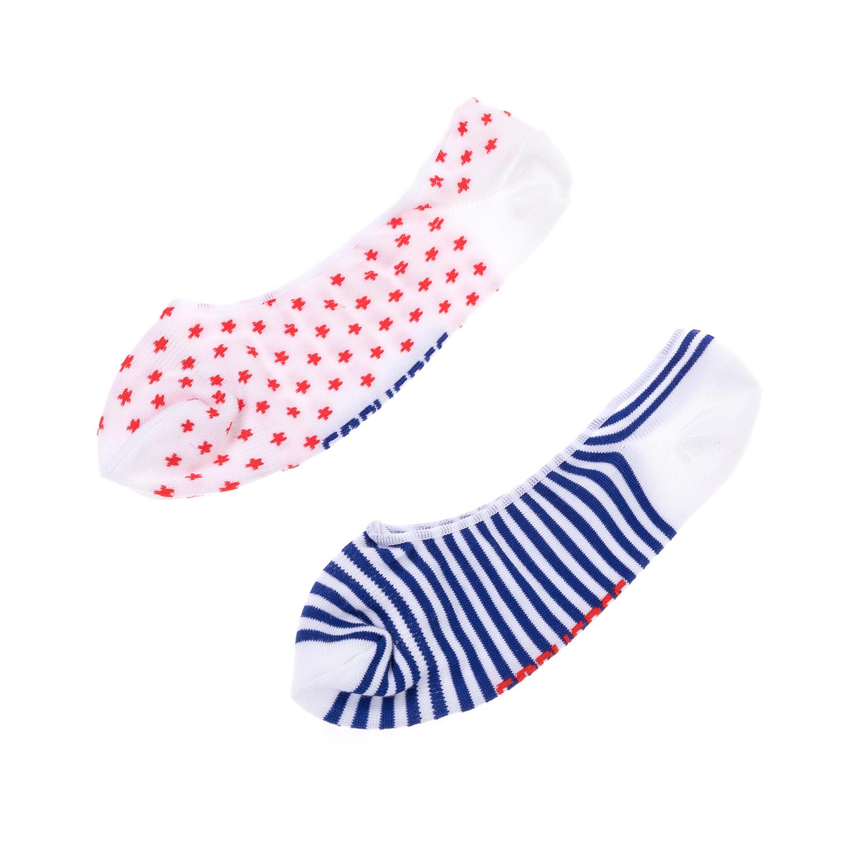 CONVERSE – Ανδρικό σετ κάλτσες CONVERSE κόκκινες-μπλε-άσπρες
