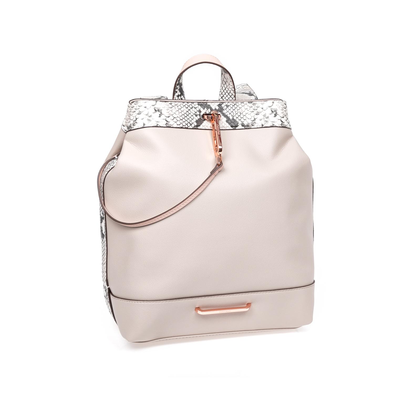 CALVIN KLEIN JEANS – Γυναικεία τσάντα πλάτης Calvin Klein Jeans μπεζ 1522623.0-00M6