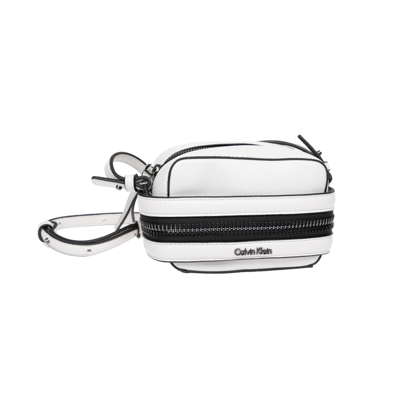 CALVIN KLEIN JEANS – Γυναικεία τσάντα Calvin Klein Jeans άσπρη 1522628.0-0093