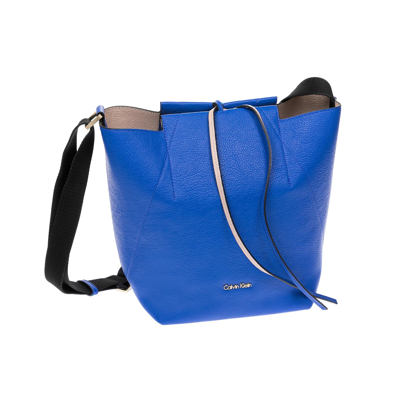 CALVIN KLEIN JEANS – Γυναικεία τσάντα CALVIN KLEIN JEANS μπλε 1522637.0-008B
