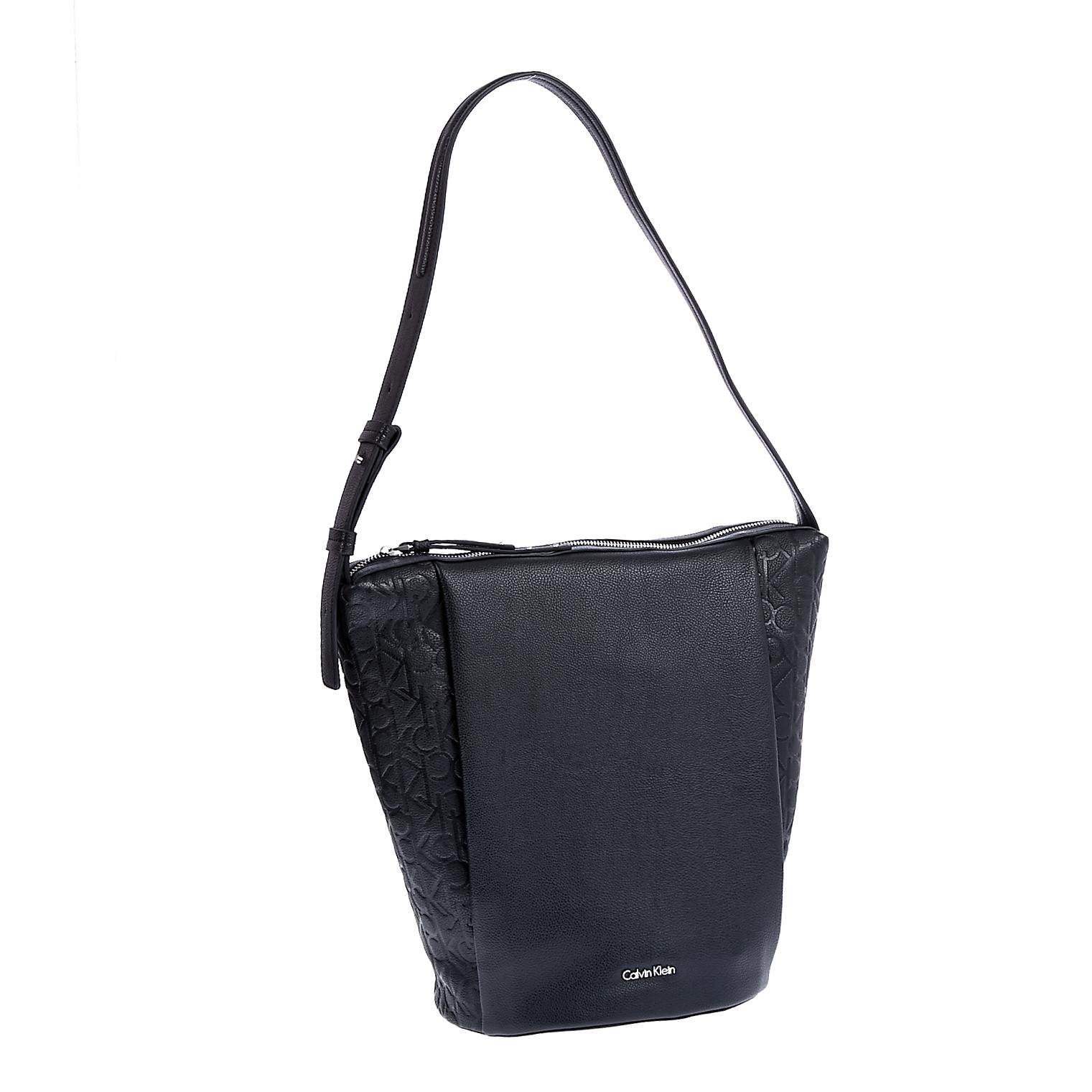 CALVIN KLEIN JEANS – Γυναικεία τσάντα Calvin Klein Jeans μαύρη 1522738.0-0073
