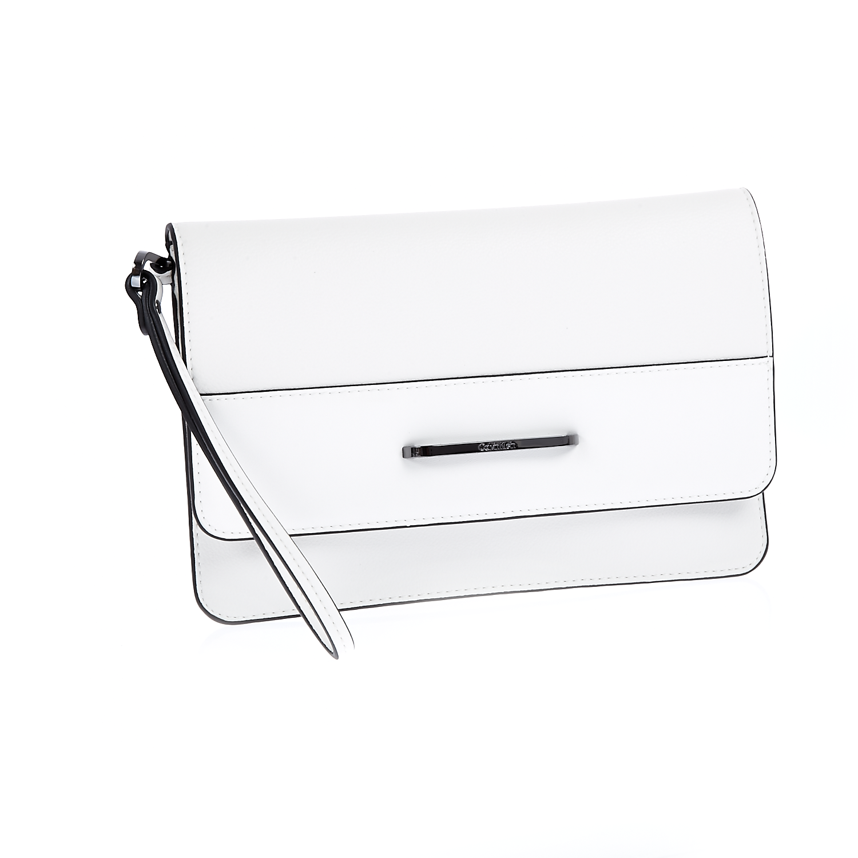 CALVIN KLEIN JEANS – Γυναικείο clutch Calvin Klein Jeans λευκό 1522744.0-0093