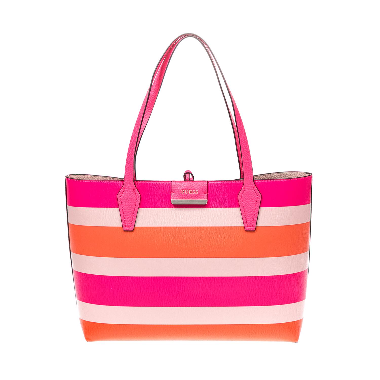 GUESS – Γυναικεία τσάντα GUESS φούξια 1525744.0-0047