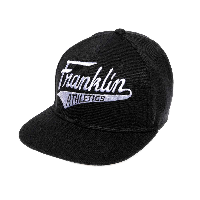 FRANKLIN & MARSHALL – Καπέλο FRANKLIN & MARSHALL μαύρο