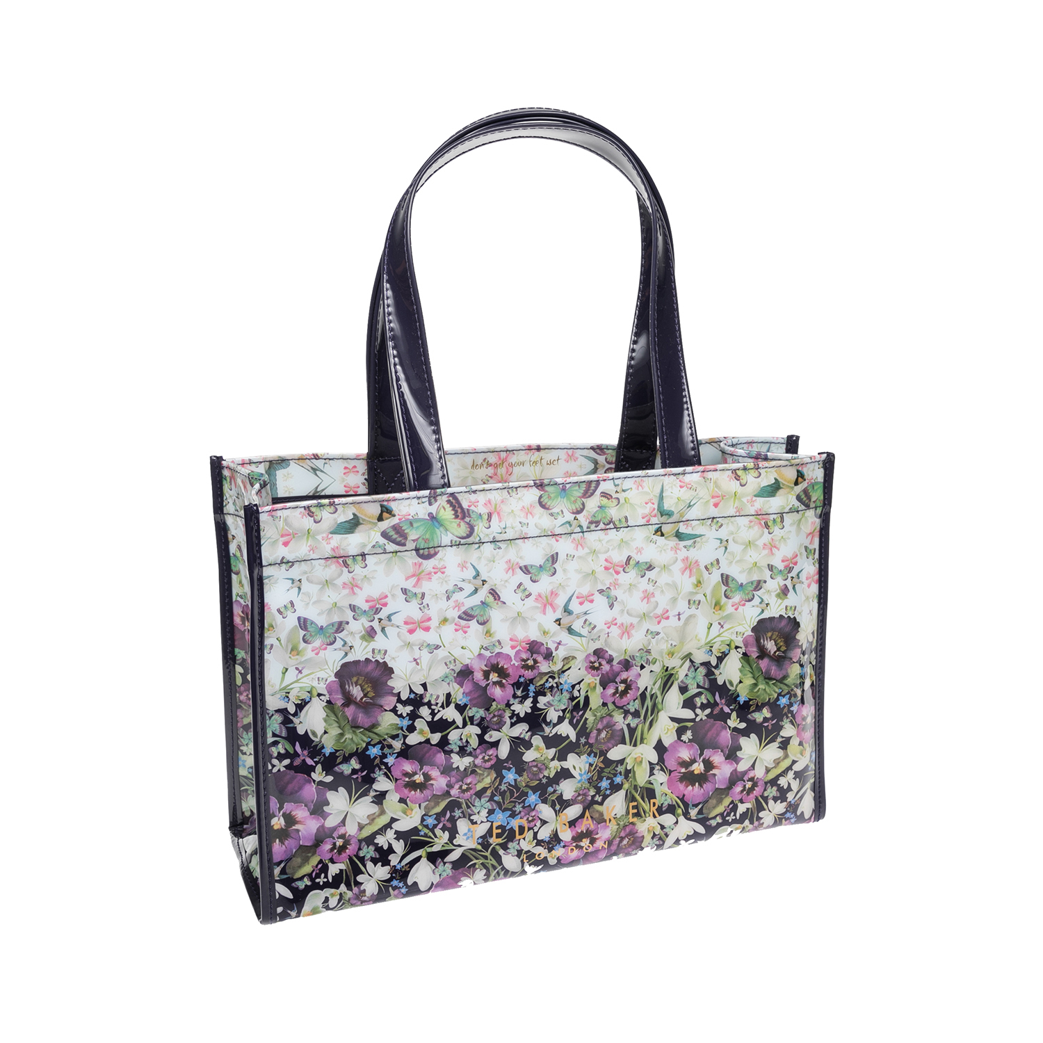 TED BAKER – Γυναικεία τσάντα TED BAKER εμπριμέ 1526948.0-0013