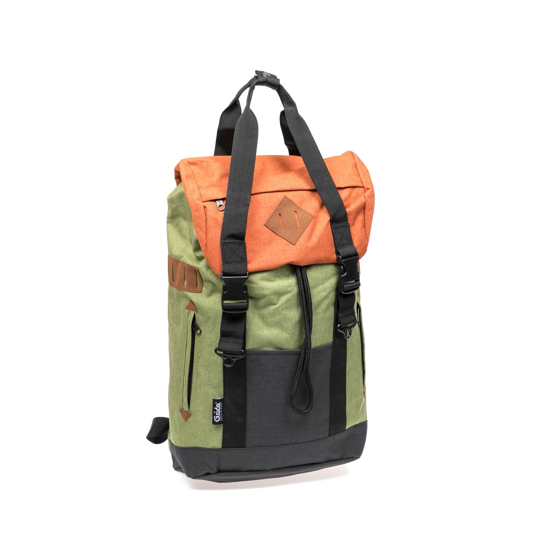 G.RIDE – Τσάντα πλάτης G.Ride λαδί-πορτοκαλί 1528945.0-O361