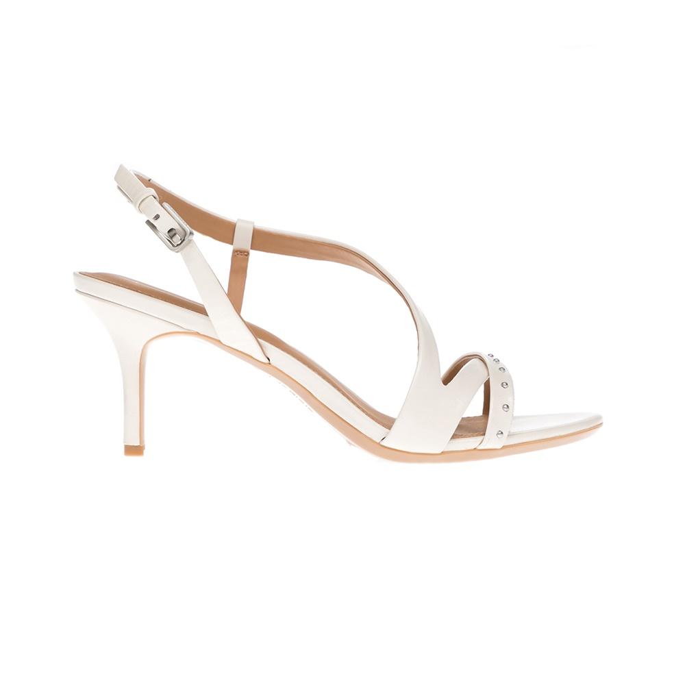 CALVIN KLEIN JEANS – Γυναικεία παπούτσια CALVIN KLEIN JEANS άσπρα