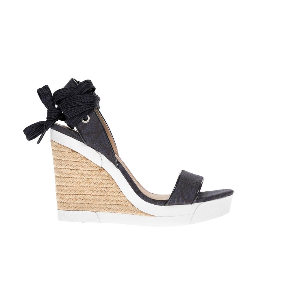 CALVIN KLEIN JEANS – Γυναικεία παπούτσια CALVIN KLEIN JEANS μπεζ-μπλε