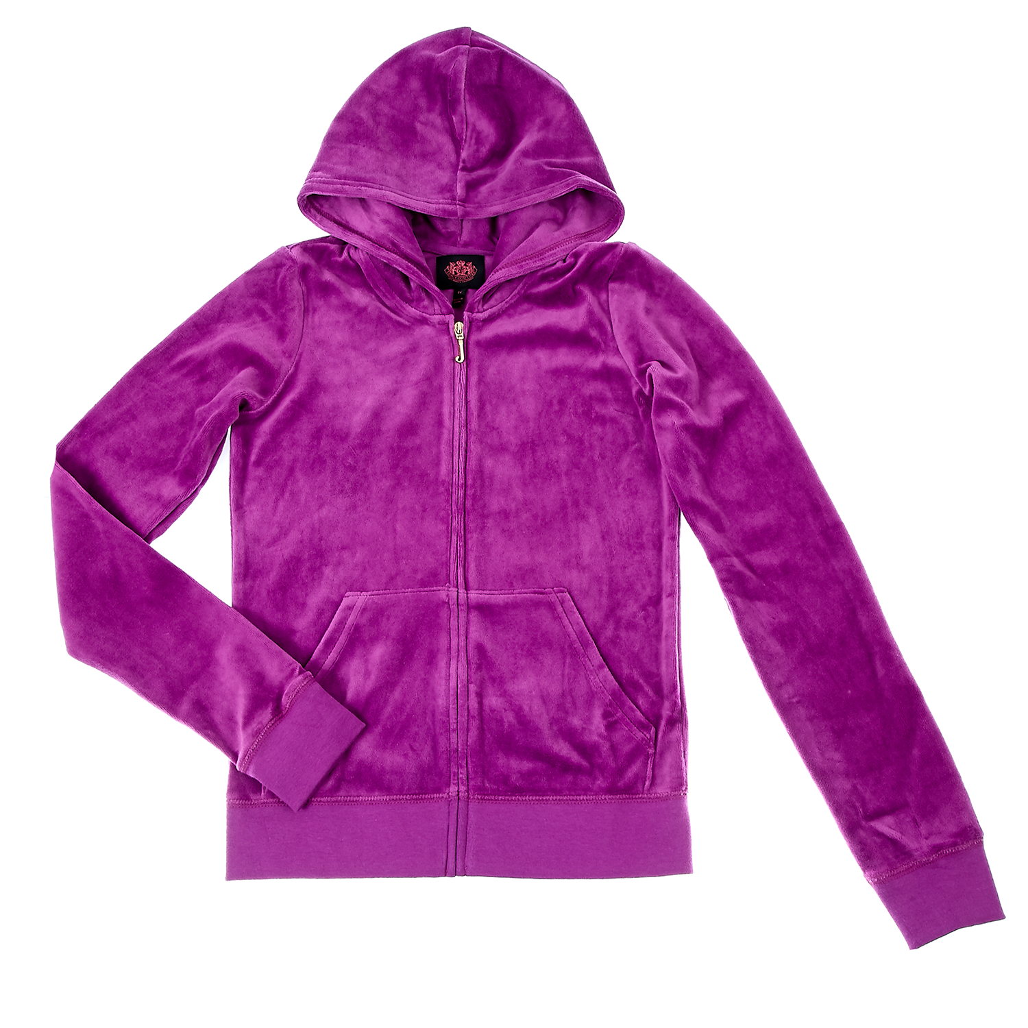 JUICY COUTURE KIDS - Παιδική ζακέτα Juicy Couture μωβ