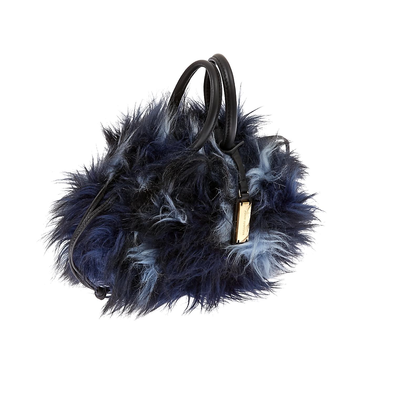 JUICY COUTURE - Τσάντα χειρός Juicy Couture μπλε γυναικεία αξεσουάρ τσάντες σακίδια χειρός