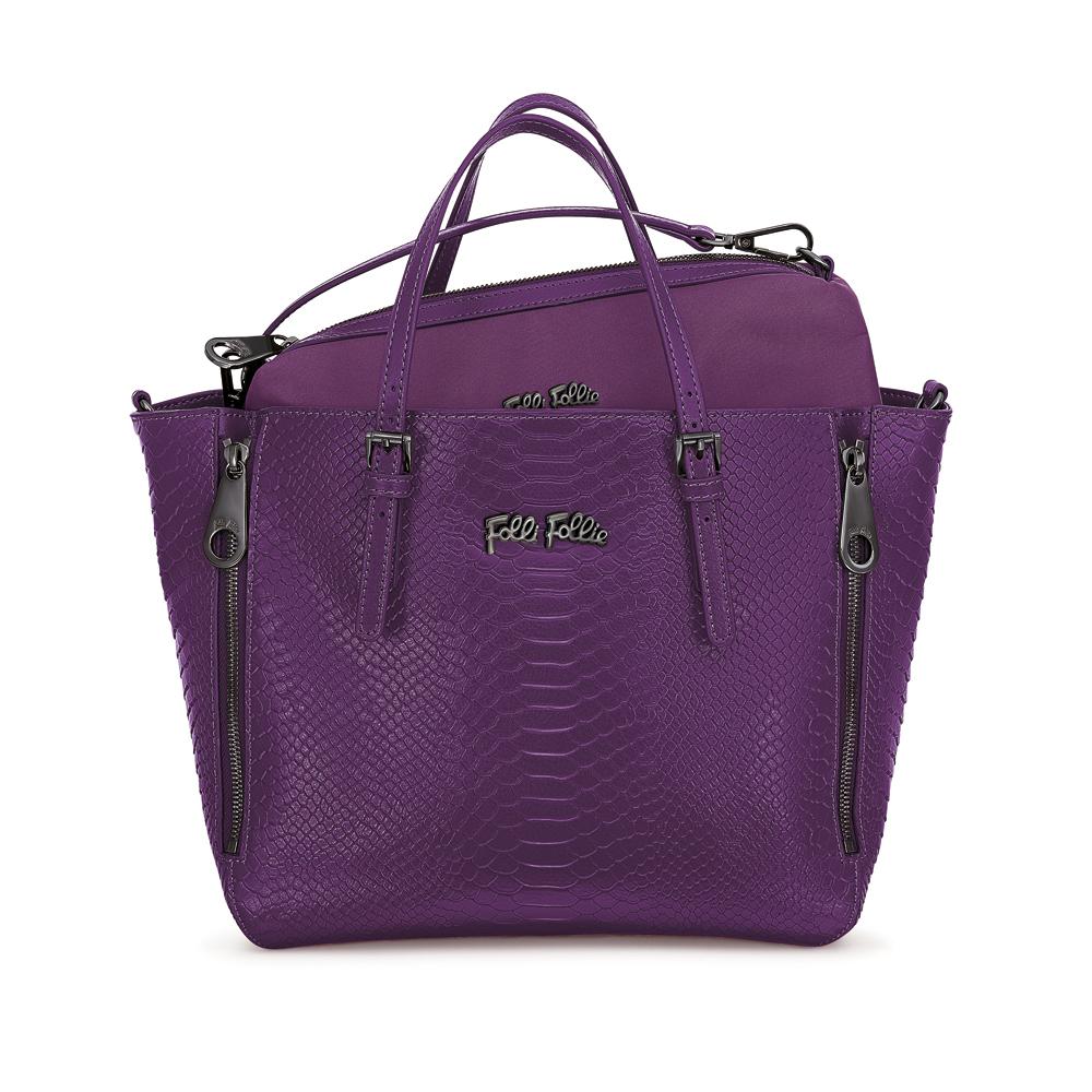 FOLLI FOLLIE – Γυναικεία τσάντα FOLLI FOLLIE μοβ 1533757.0-0000