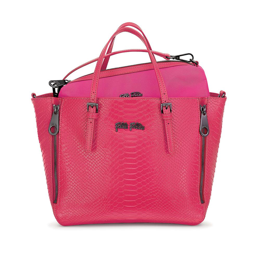 FOLLI FOLLIE – Γυναικεία τσάντα FOLLI FOLLIE ροζ 1533758.0-0000