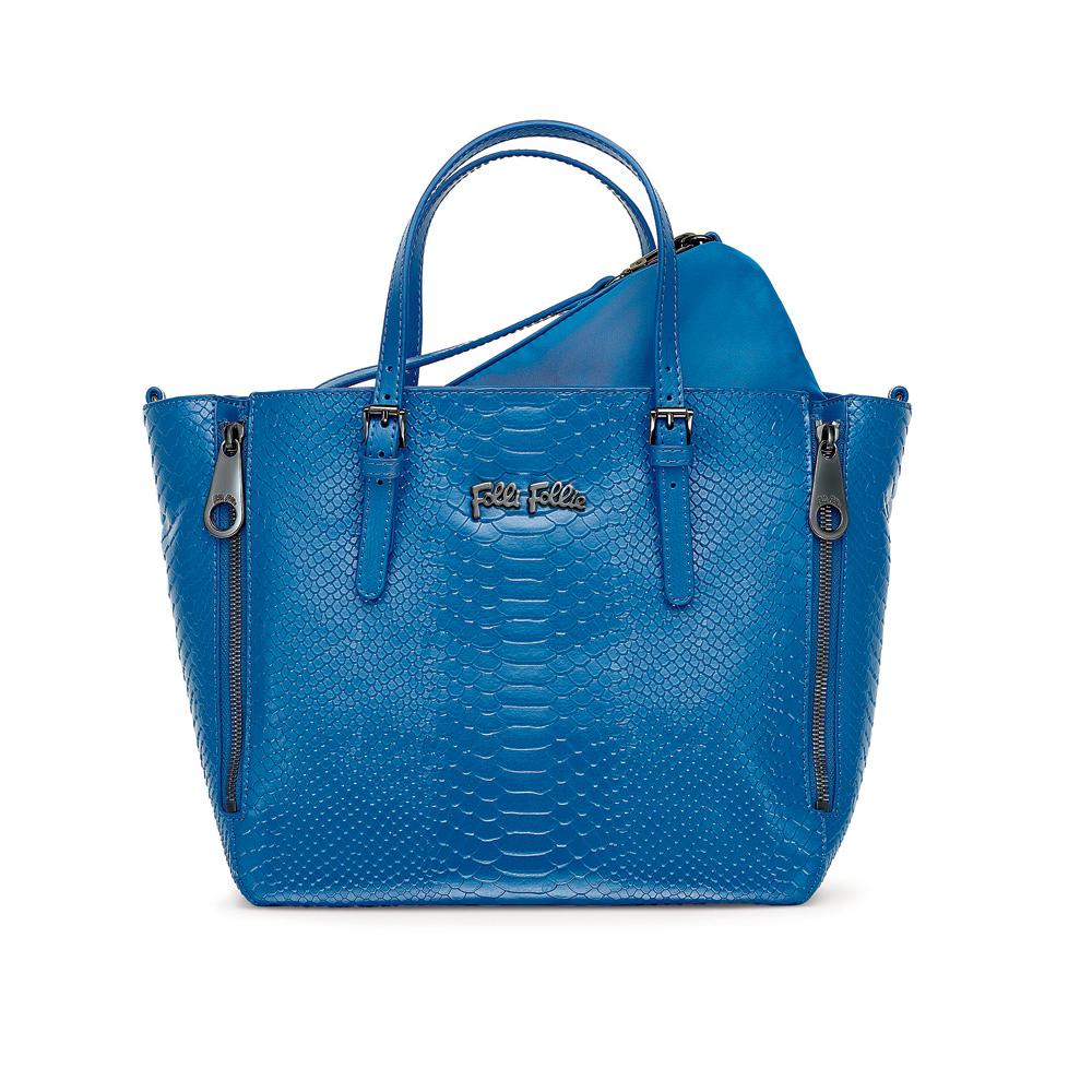 FOLLI FOLLIE – Γυναικεία τσάντα FOLLI FOLLIE μπλε 1533760.0-0000