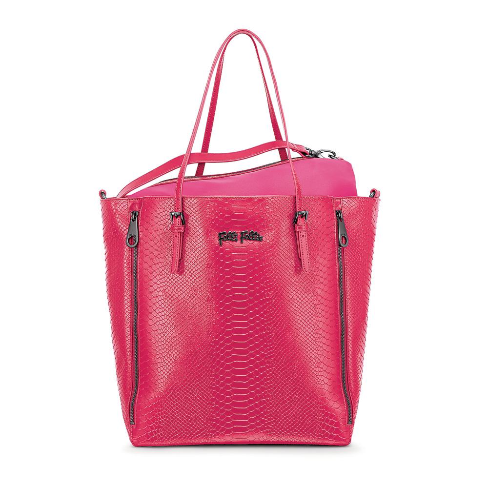FOLLI FOLLIE – Γυναικεία τσάντα FOLLI FOLLIE ροζ 1534835.0-0000