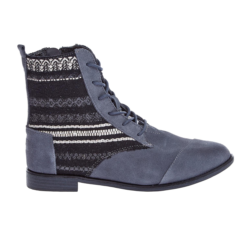TOMS - Γυναικεία μποτάκια TOMS γκρι γυναικεία παπούτσια μπότες μποτάκια μποτάκια