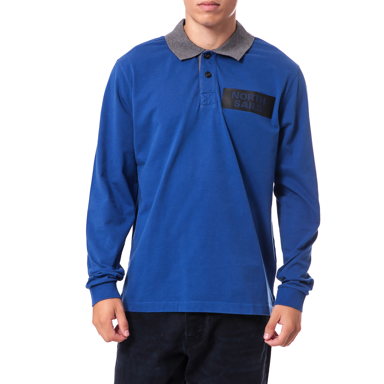 NORTH SAILS - Ανδρική μπλούζα North Sails μπλε