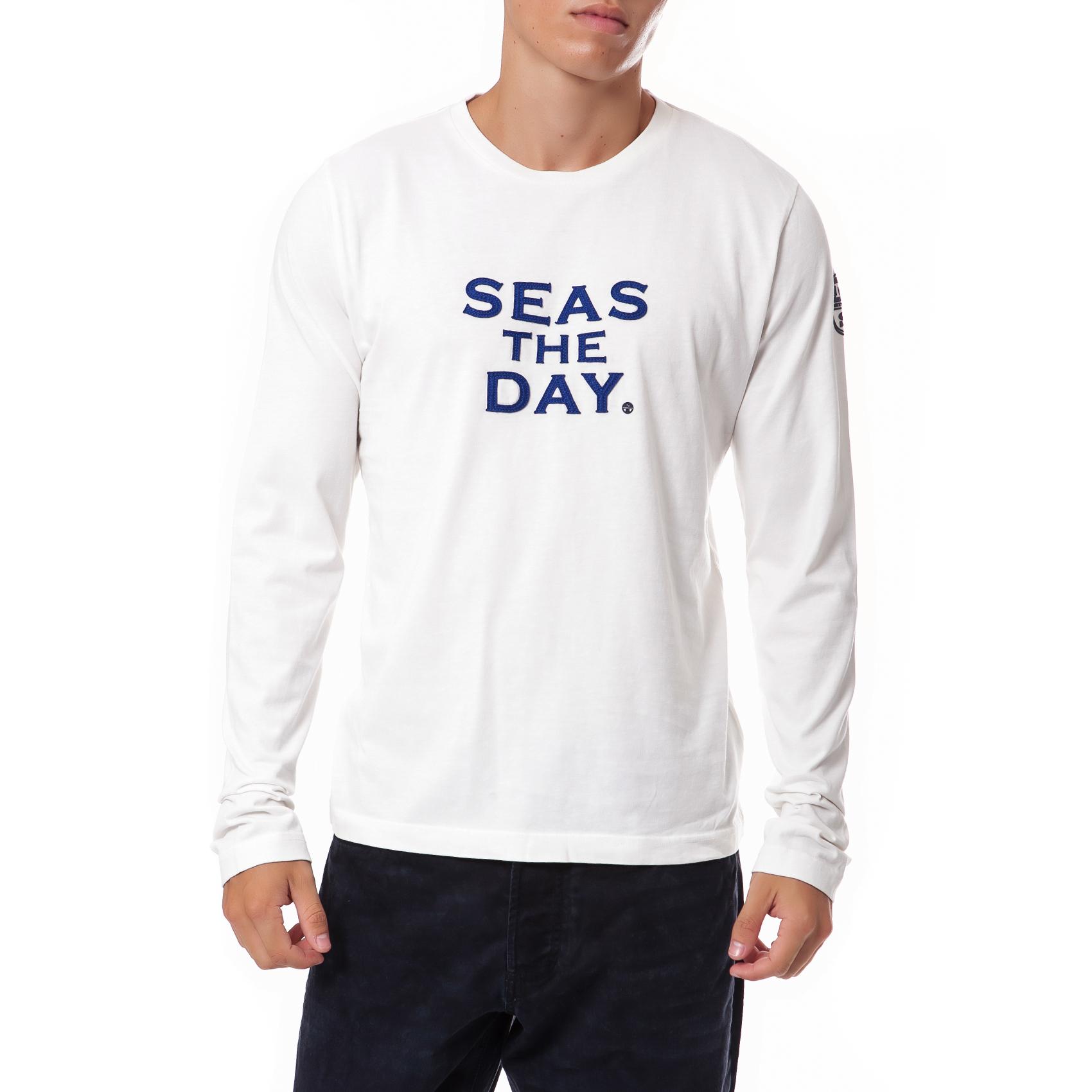 NORTH SAILS - Ανδρική μπλούζα North Sails εκρού