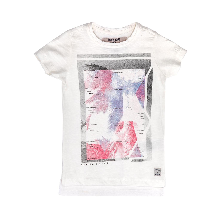 GARCIA JEANS - Παιδική μπλούζα GARCIA JEANS άσπρη