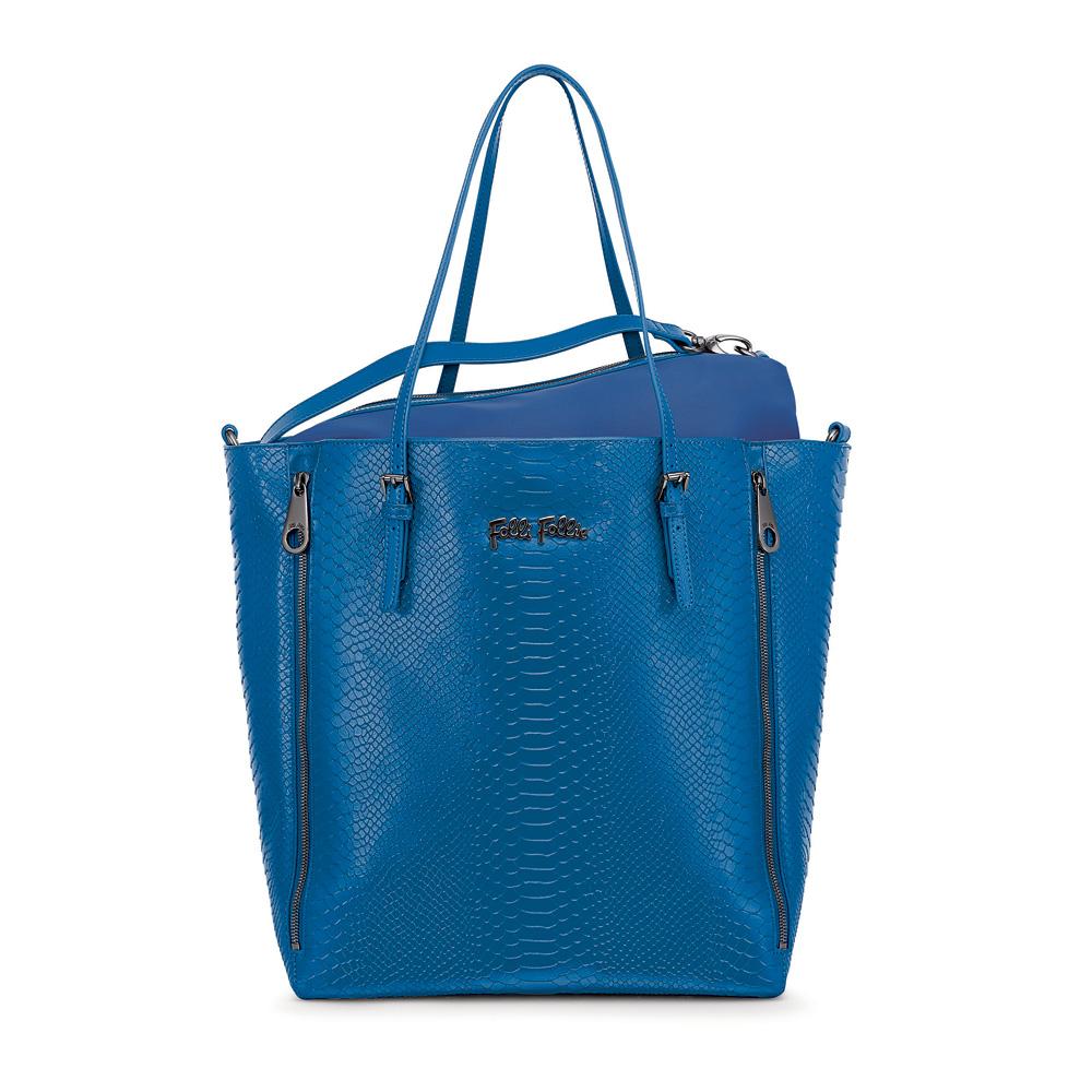 FOLLI FOLLIE – Γυναικεία τσάντα FOLLI FOLLIE μπλε 1539375.0-0000