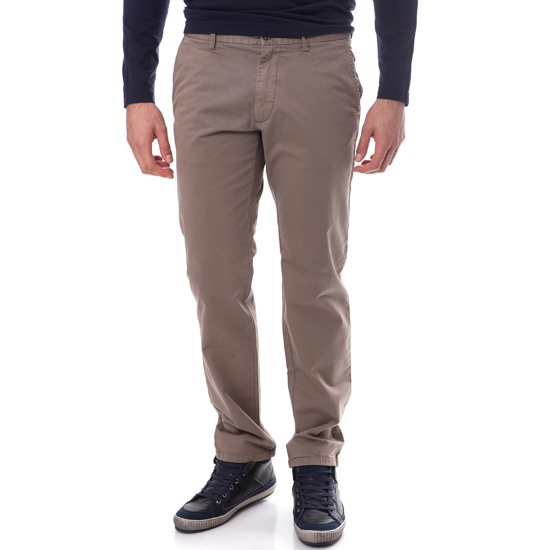 GANT - Ανδρικό παντελόνι Gant μπεζ-χακί
