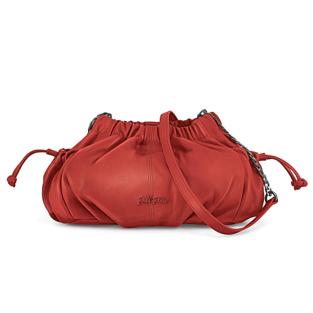 FOLLI FOLLIE – Γυναικεία τσάντα FOLLI FOLLIE κόκκινη 1542768.0-0000