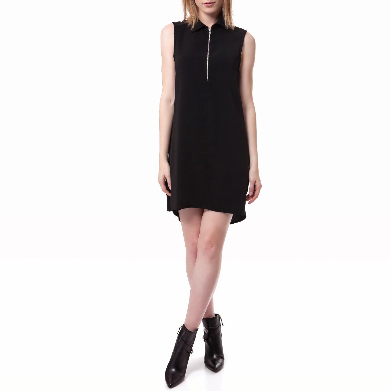 FEEL CUTE - Γυναικείο φόρεμα Feel Cute μαύρο γυναικεία ρούχα φορέματα μίνι