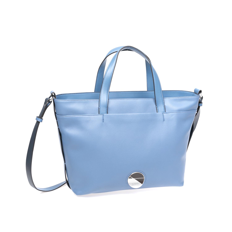 CALVIN KLEIN JEANS – Γυναικεία τσάντα Calvin Klein Jeans μπλε 1546765.0-1300