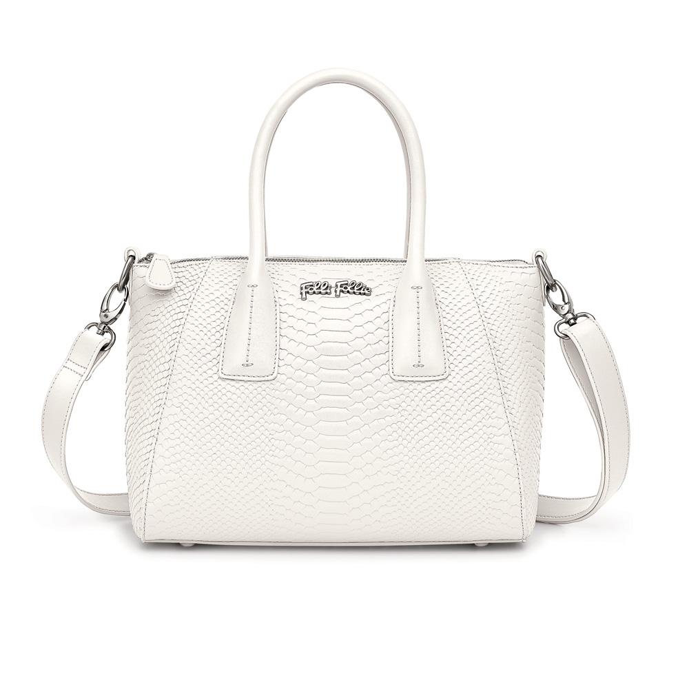 FOLLI FOLLIE – Γυναικεία τσάντα FOLLI FOLLIE άσπρη 1551823.0-0000