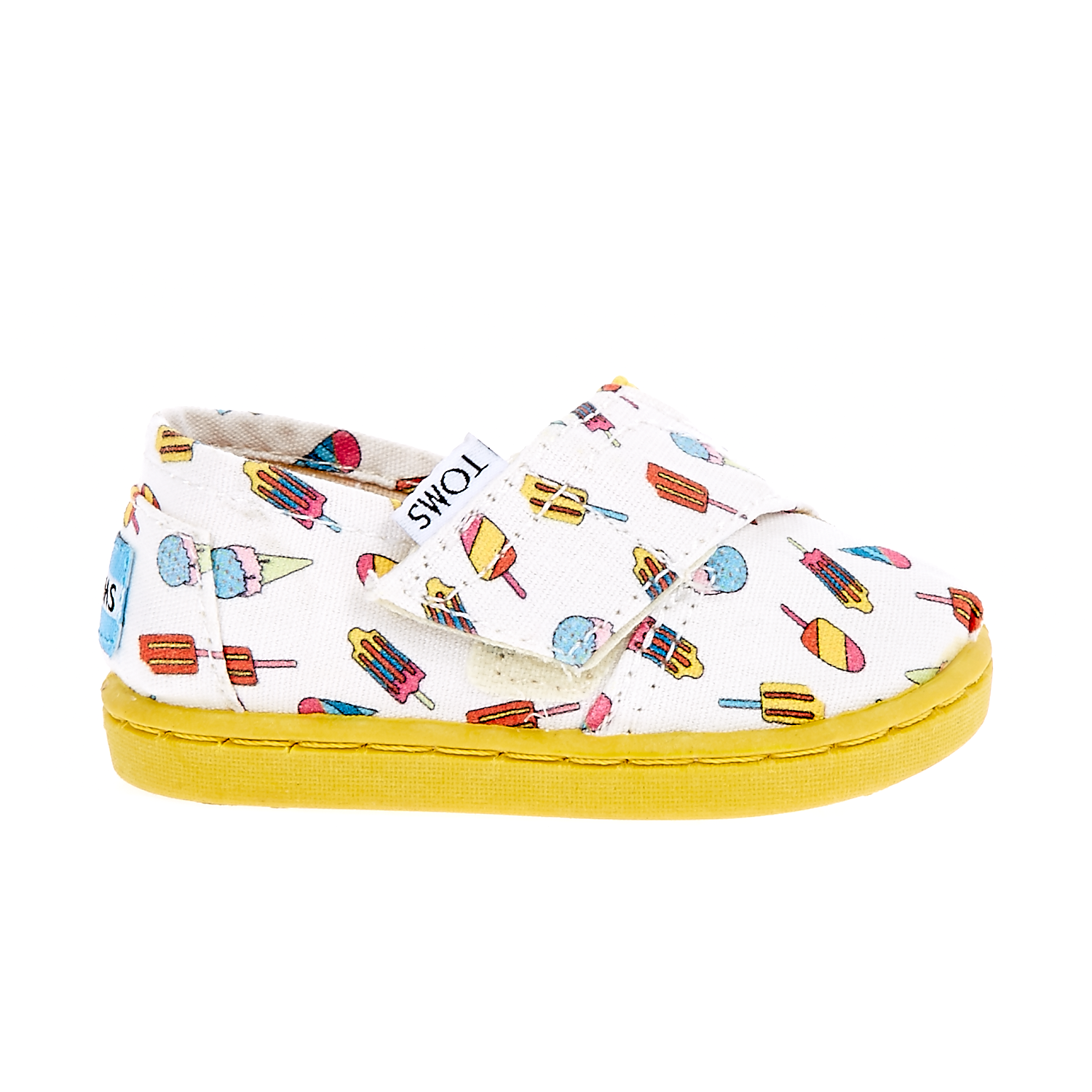 TOMS – Βρεφικά παπούτσια TOMS λευκά