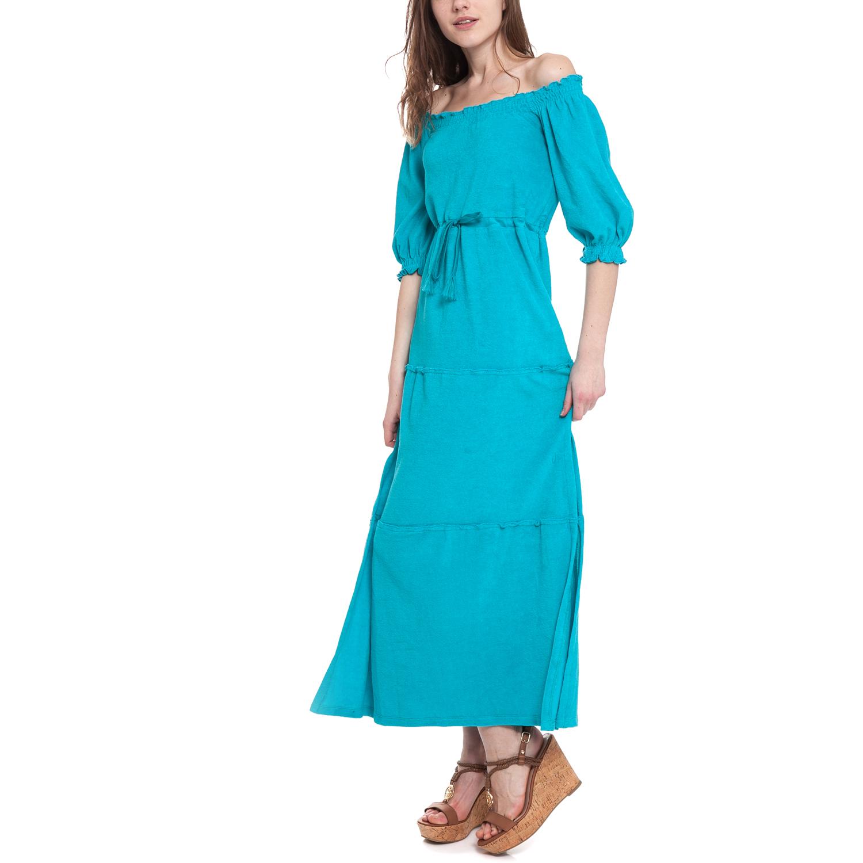 MYMOO - Γυναικείο φόρεμα MYMOO τυρκουάζ γυναικεία ρούχα φορέματα μάξι