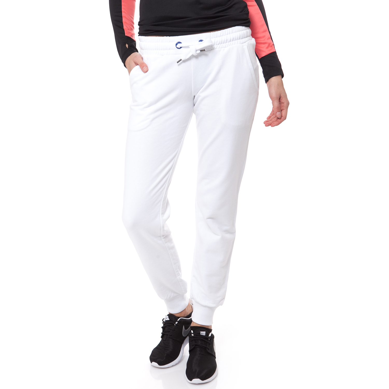 BODYTALK - Γυναικεία φόρμα BODYTALK λευκή γυναικεία ρούχα αθλητικά φόρμες